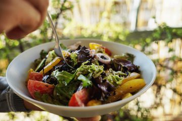 Athens Salad Plants Make Food