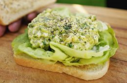 The most delicious vegan egg salad sandwich - Plants Make Food